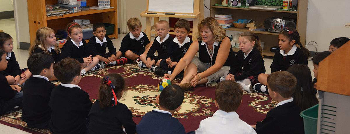 Kindergarten Class - Resurrection School - Sunnyvale