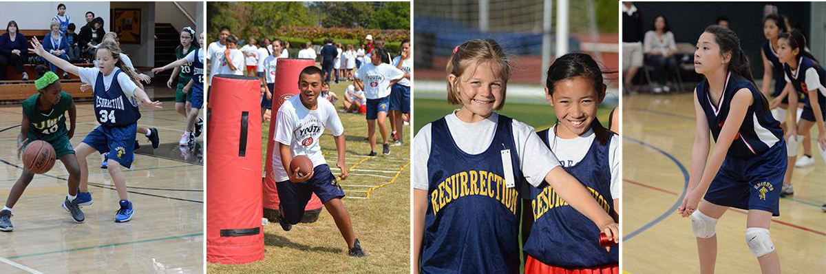 Physical Education programs - Resurrection School - Sunnyvale