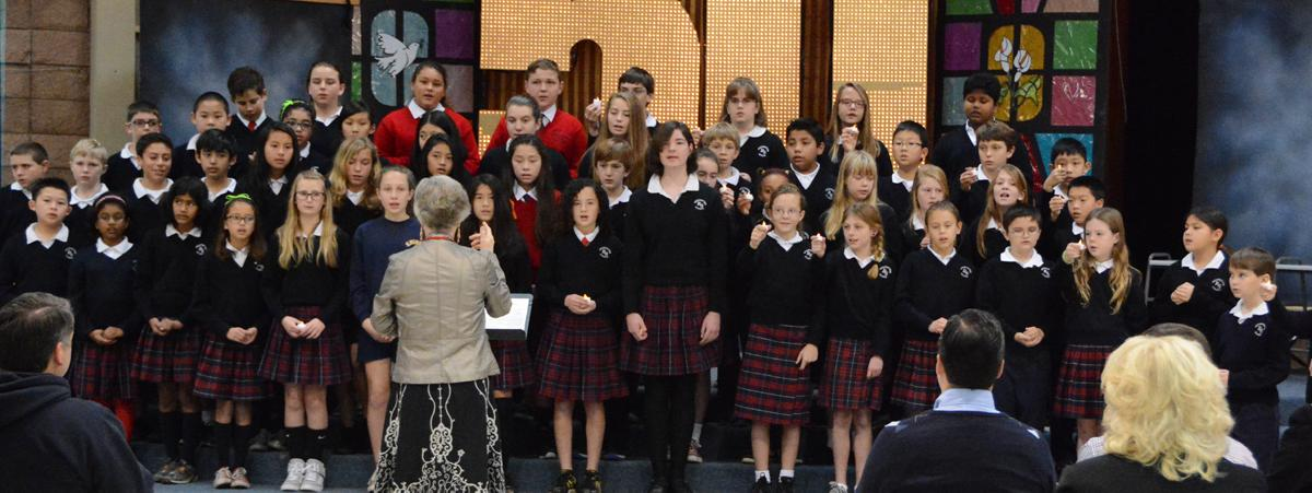 Choir - Resurrection School - Sunnyvale
