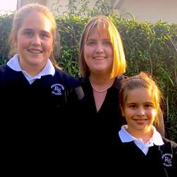 Alumni Family at Resurrection Catholic School